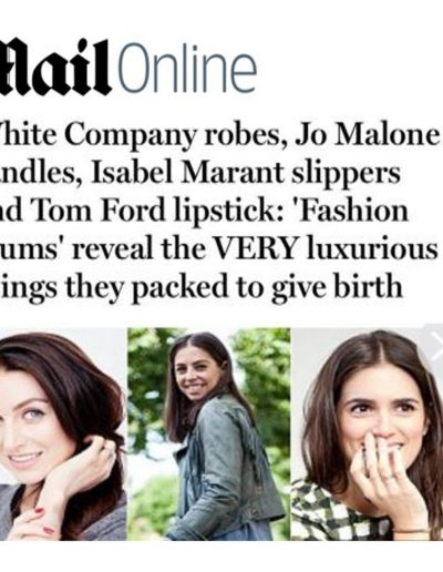 Daily Mail (article on Insta mums)