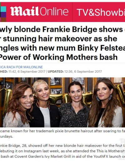 Daily Mail (article on event we hosted with Revlon)