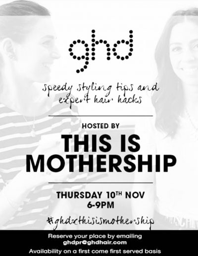 GHD X This is Mothership