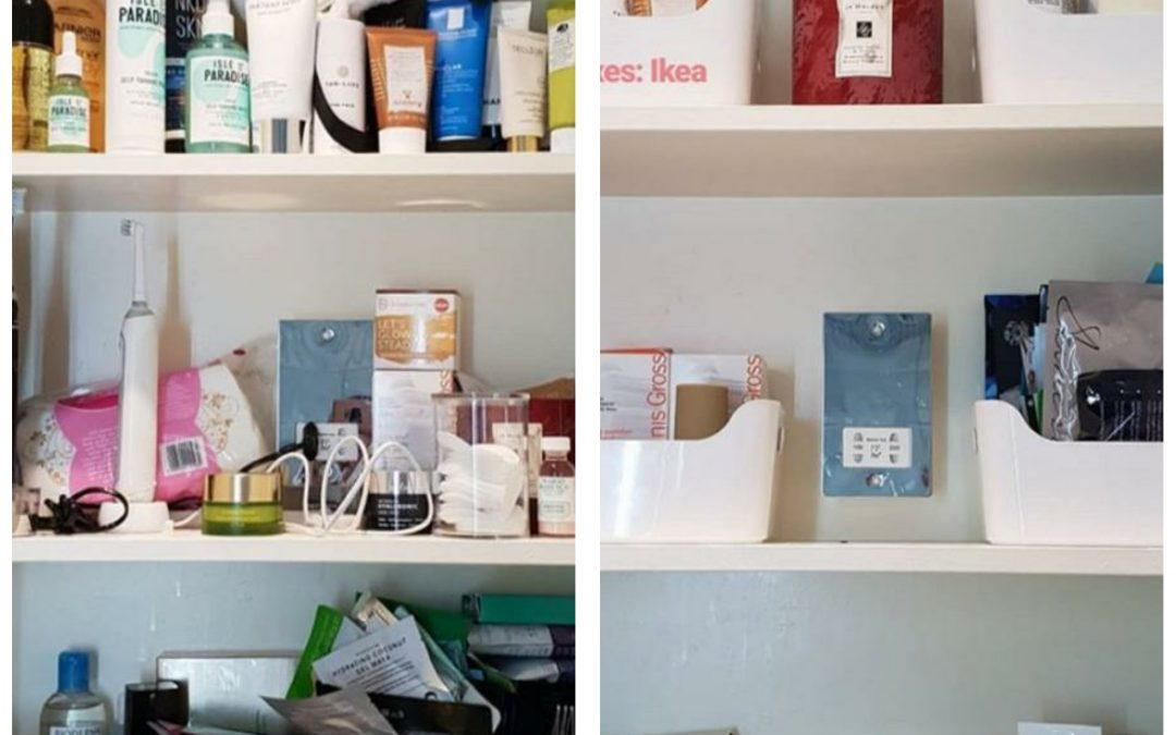 TAP TO TIDY: GETTING ORGANISED AT HOME