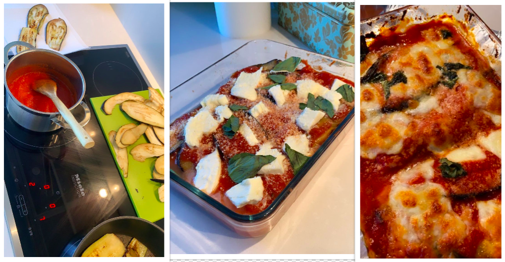 THE EASIEST, TASTIEST AUBERGINE PARMIGIANA